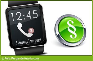 Smartwatch am Steuer = Handy am Steuer?