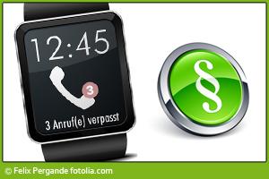 Smartwatch am Steuer gleich Handy am Steuer?