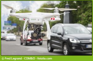 Drohnen im Tuning-Einsatz